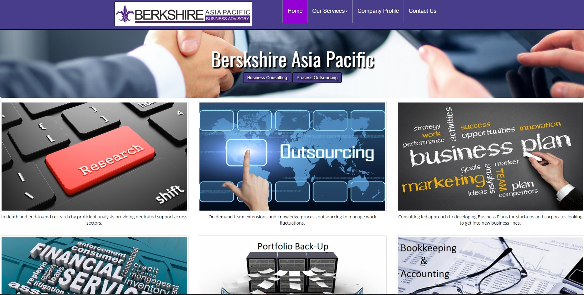 Berkshire Asia Pacific