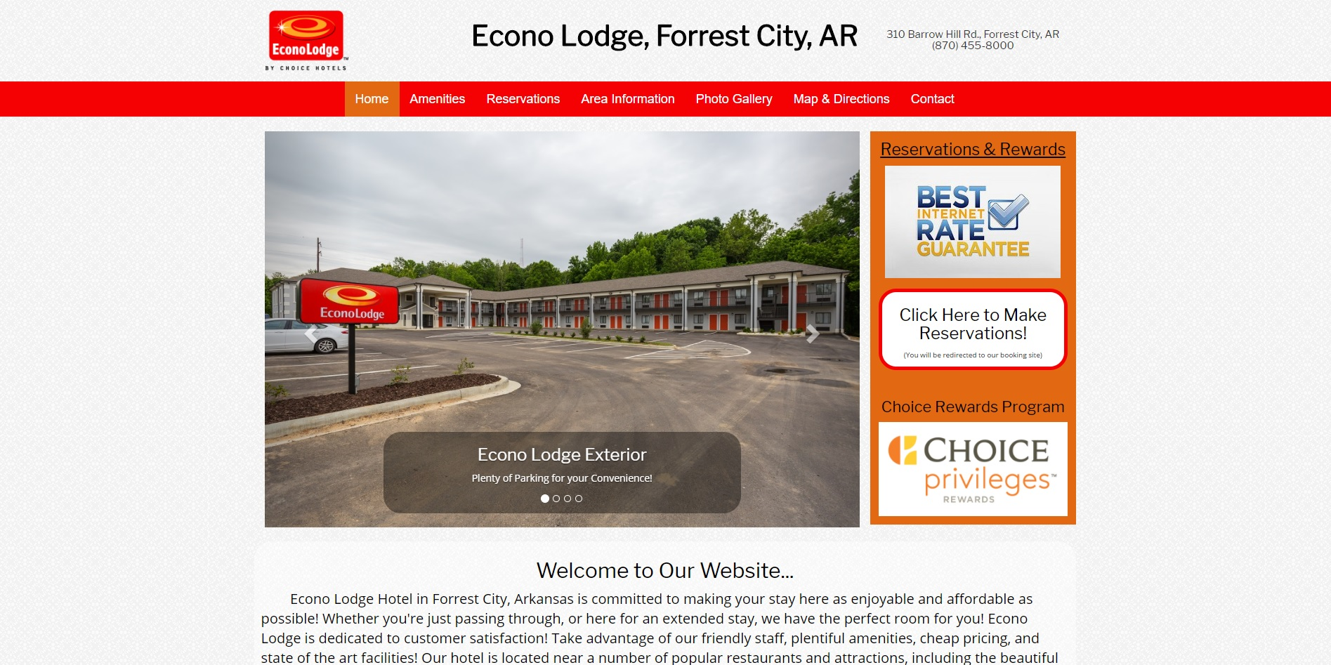 Econo Lodge Forrest City,AR